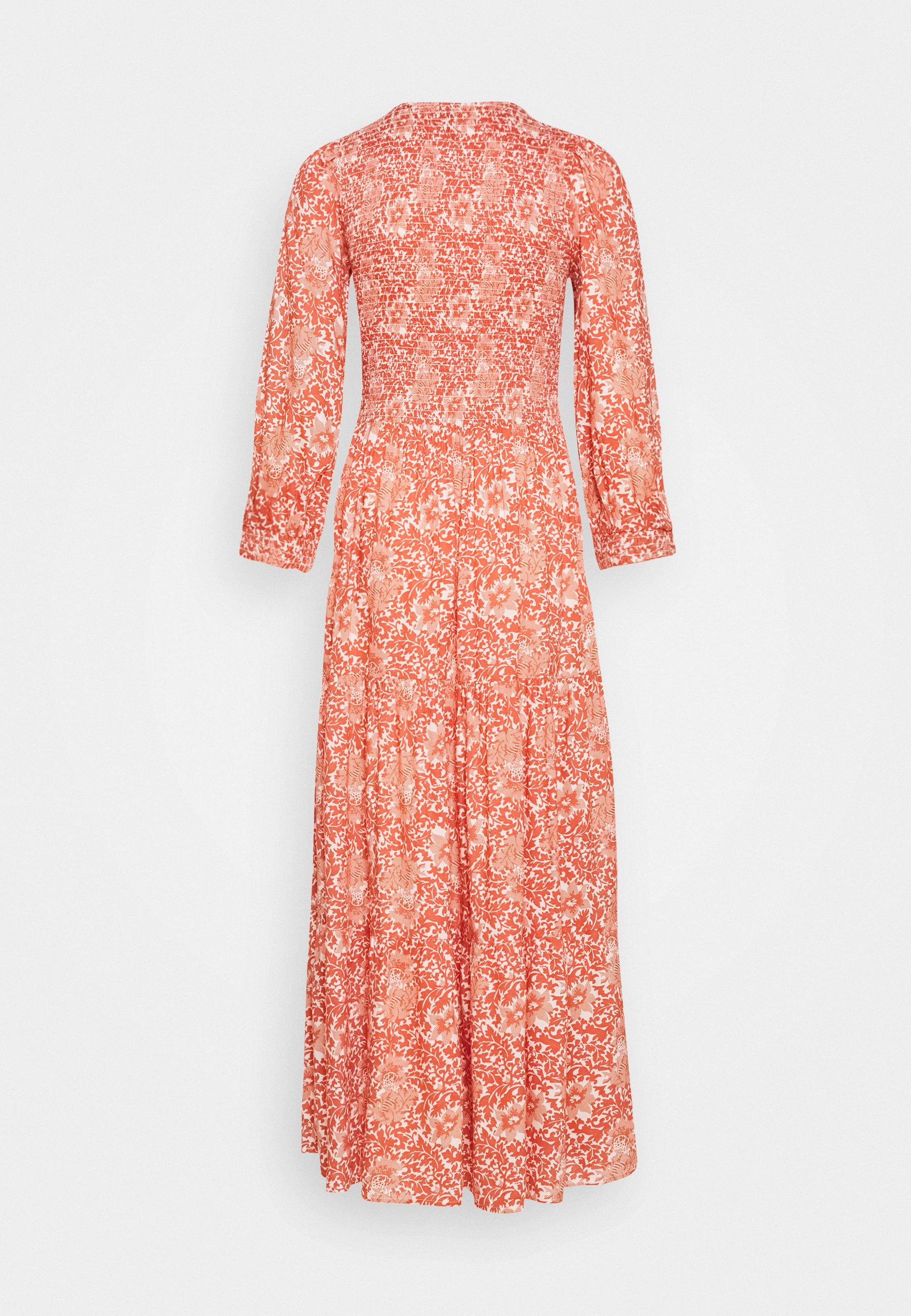YAS Tall YASDAMASK LONG DRESS - Maxi dress - whisper pink