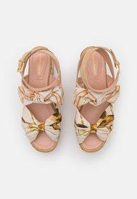 Alberta Ferretti - Platform sandals - beige - 4