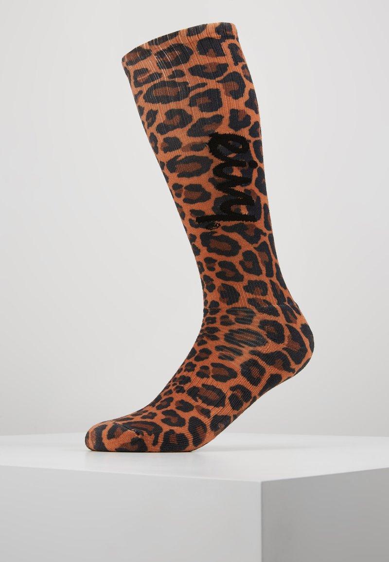 Eivy - UNDER KNEE - Knee high socks - brown