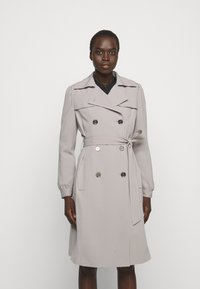 MICHAEL Michael Kors - DOUBLE BREASTED PUFF SLEEVE DRAPERY - Trenchcoat - nickel - 0
