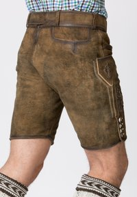 Stockerpoint - Shorts - brown - 5