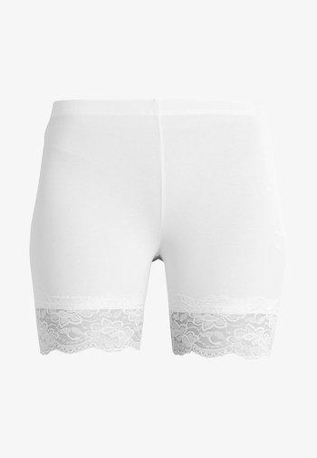 MATILDA BIKER - Shorts - optical white