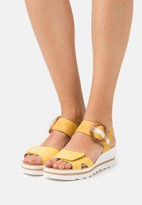 Rieker - Platform sandals - gelb - 0
