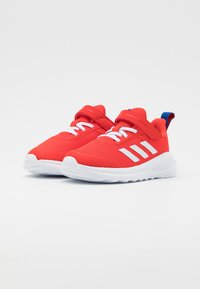 adidas Performance - FORTARUN UNISEX - Neutral running shoes - vivid red/footwear white/collegiate royal - 1