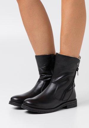 BIAATALIA WINTER ZIPPER BOOT - Winter boots - black