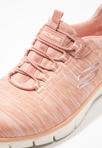 Skechers - EMPIRE SEE YA RELAXED FIT - Slip-ons - rose - 2
