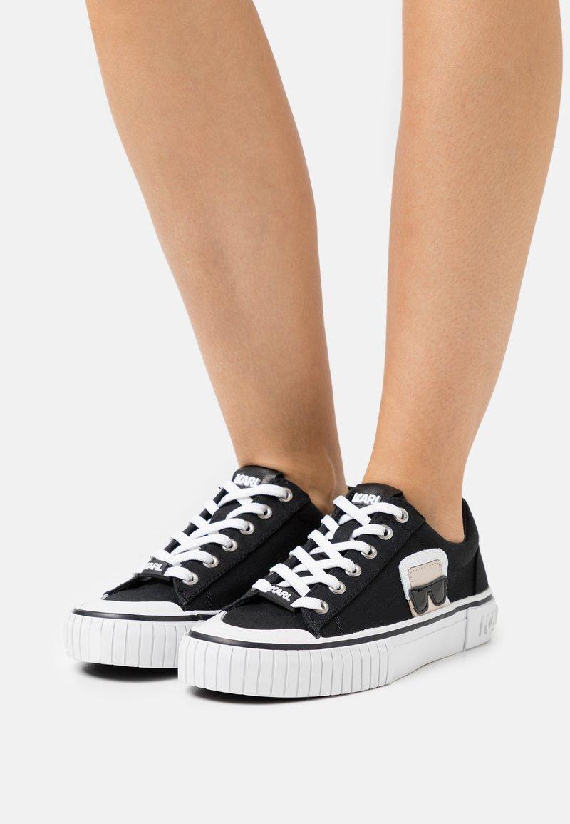KARL LAGERFELD - KAMPUS II IKONIC LACE - Sneakers - black