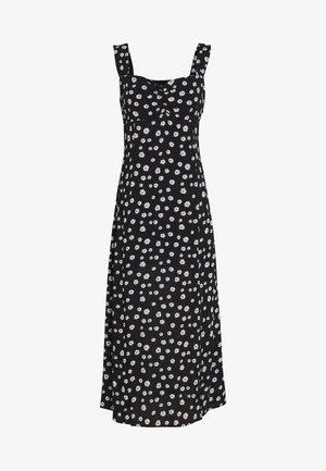 DAISY CAMI SWEETHEART DRESS - Sukienka letnia - black