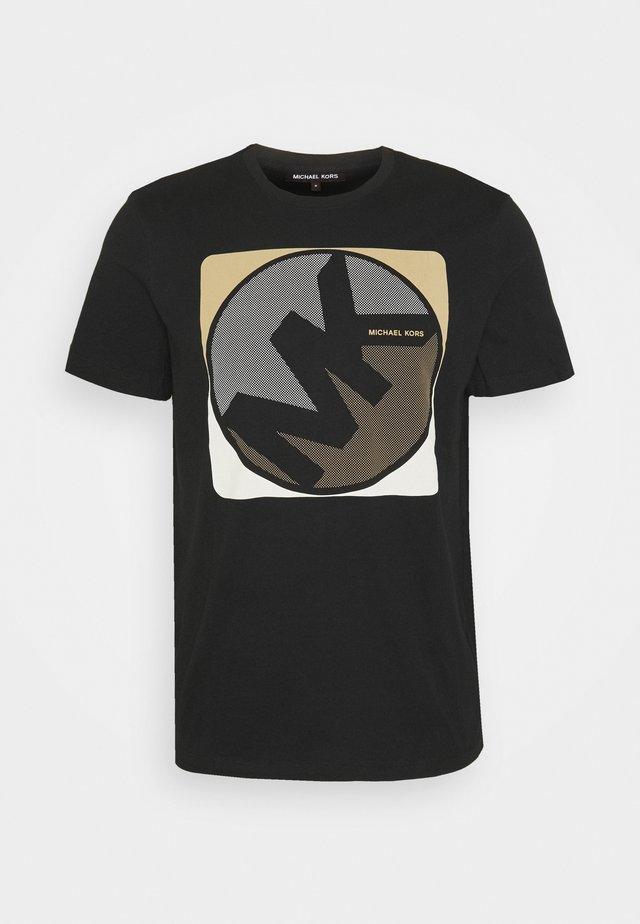 MINIDOT TEE - T-shirt imprimé - black