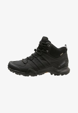 TERREX SWIFT R2 MID GTX GORETEX HIKING SHOES - Trekingové boty - core black