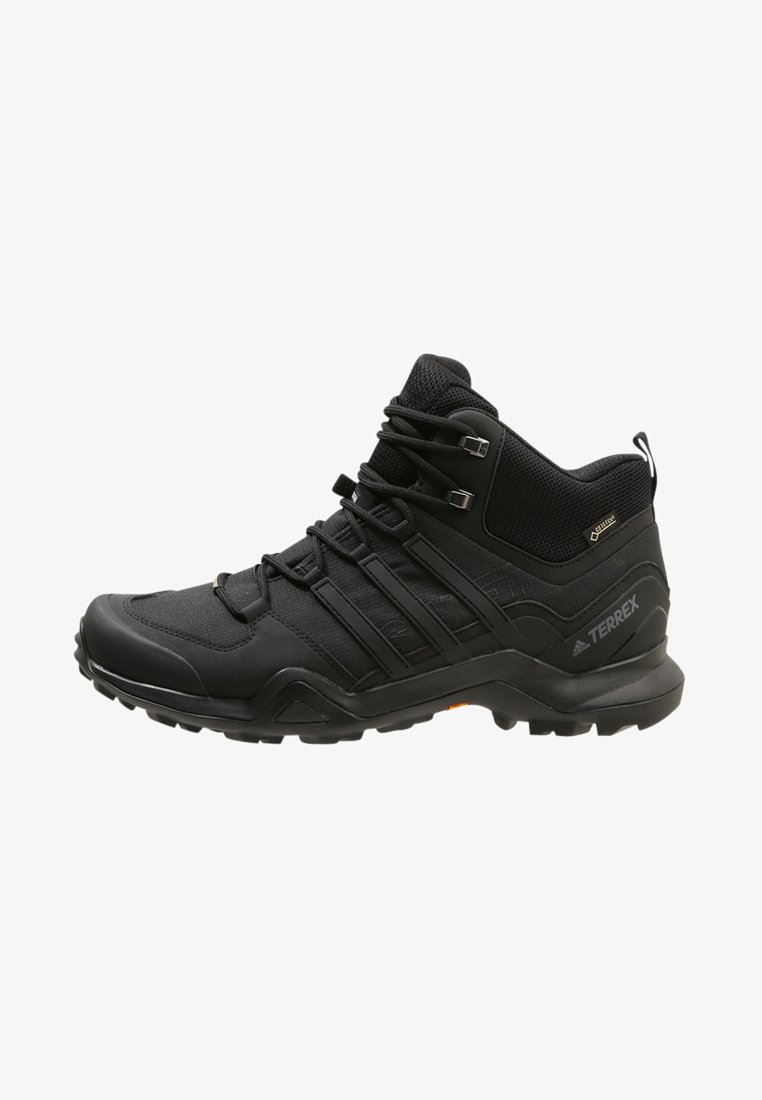 adidas Performance - TERREX SWIFT R2 MID GTX GORETEX HIKING SHOES - Chaussures de marche - core black