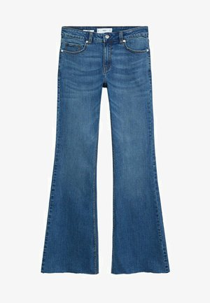 FLARE - Flared Jeans - middenblauw