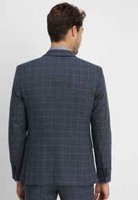 Selected Homme - SLHONE-MYLOAIR CHECK SUIT - Garnitur - dark blue - 3