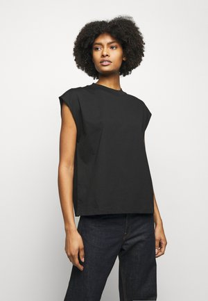 MAGGIE - Basic T-shirt - black