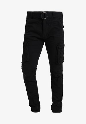 TRRANGER - Cargo trousers - black