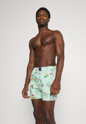 SINGLE PATTERN - Boxer shorts - mint