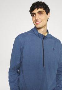 Wrangler - ALL TERRAIN GEAR ZIP - Långärmad tröja - dark blue - 3