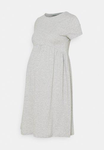 Jerseykjole - light grey
