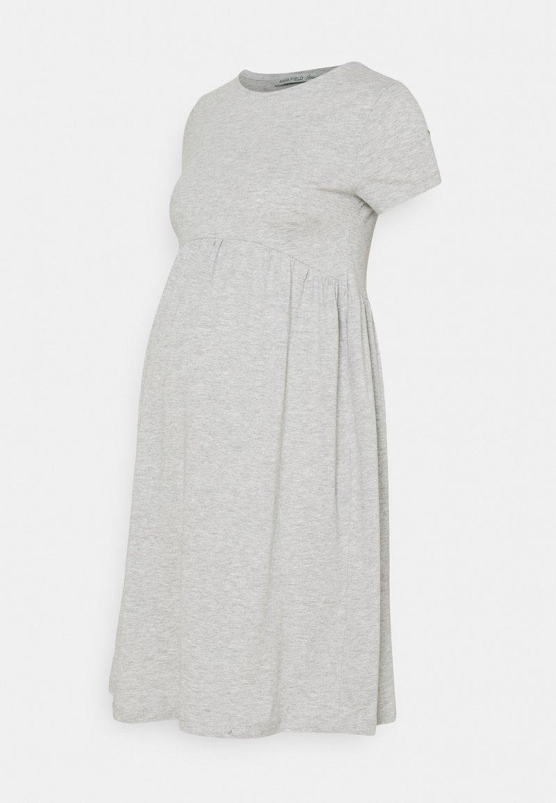 Anna Field MAMA - Sukienka z dżerseju - light grey