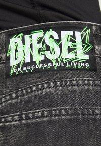 Diesel - DE BETHY SKIRT - Denim skirt - washed black - 5