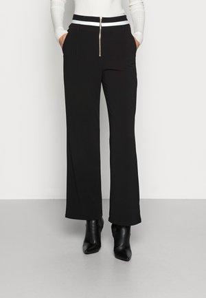 PANT NAVETTA - Spodnie materiałowe - nero
