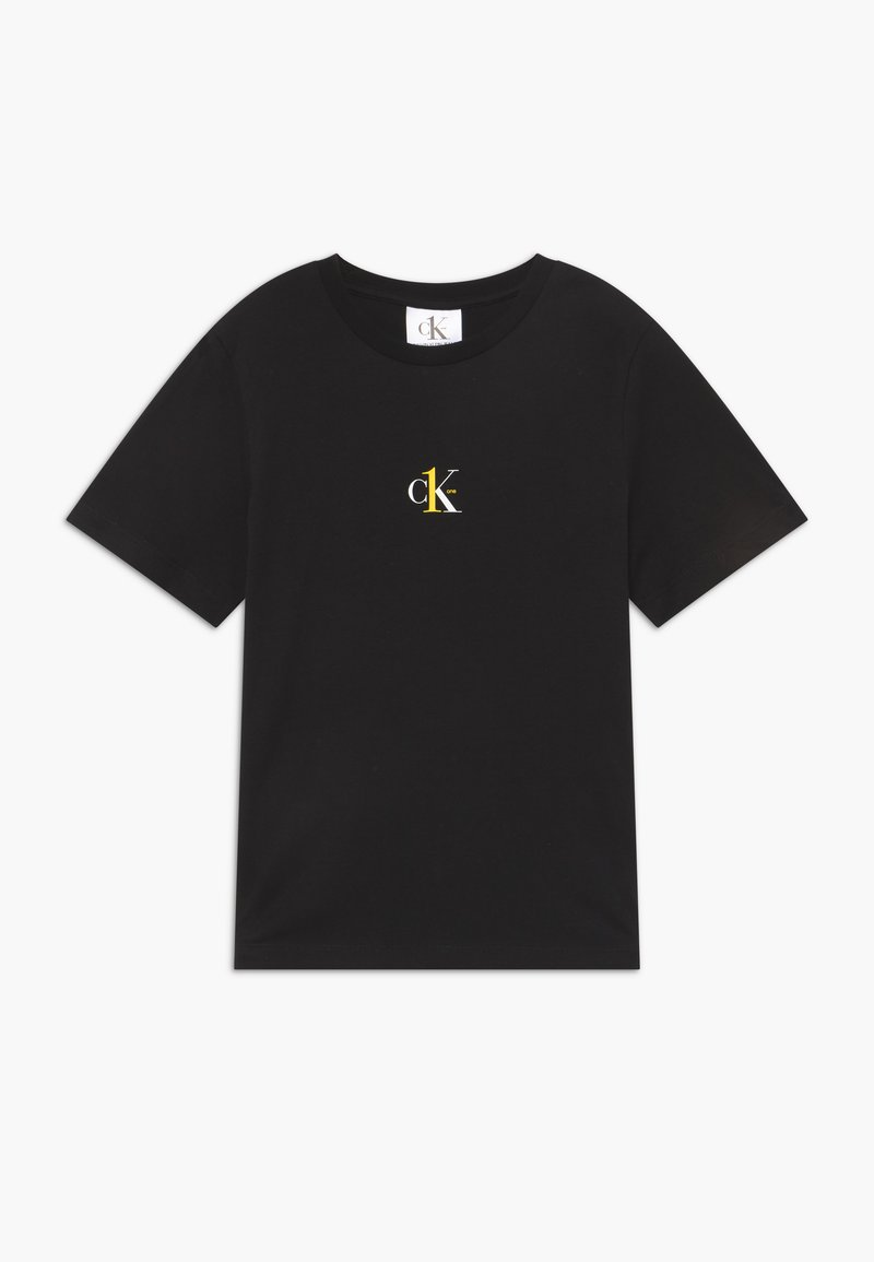 Calvin Klein Jeans - SMALL CK ONE - T-shirt basic - black