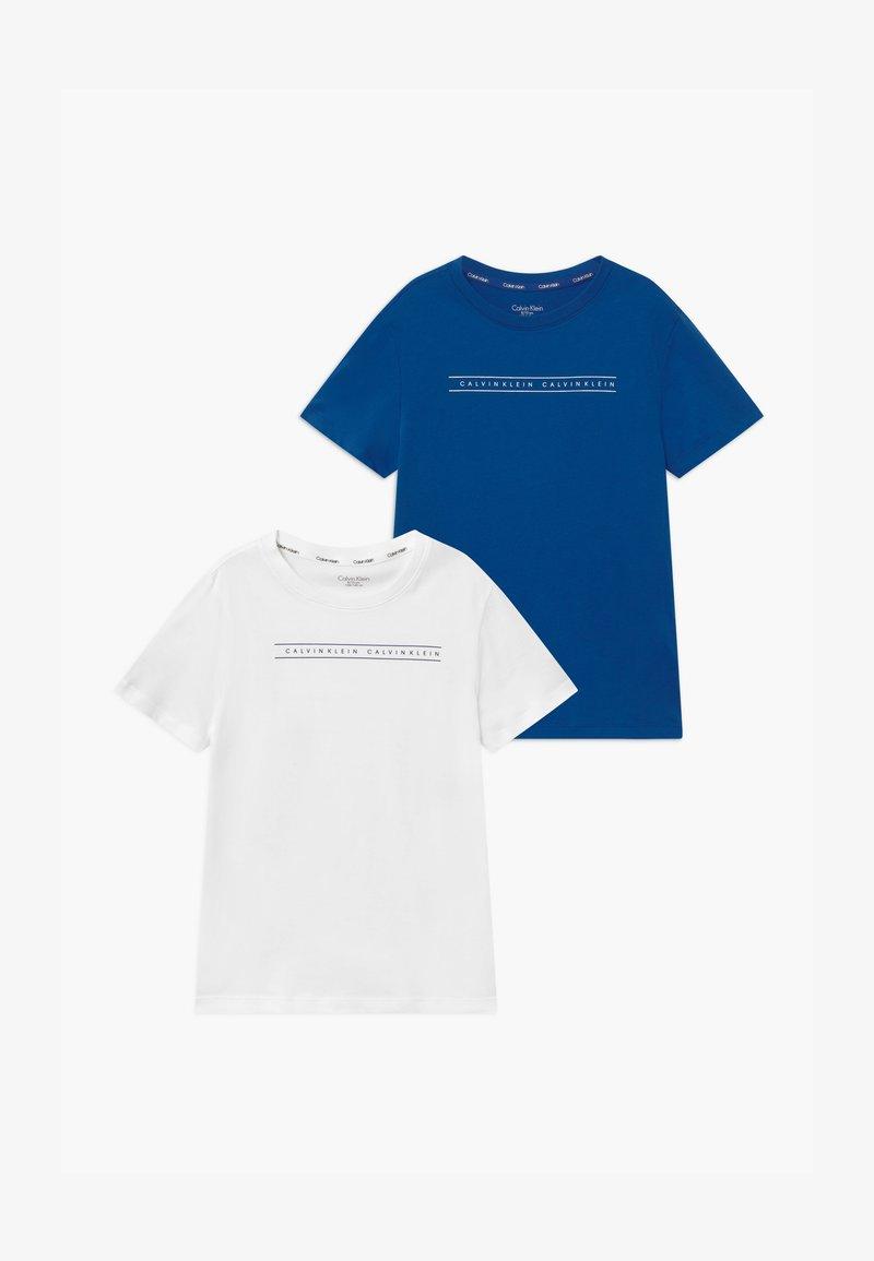 Calvin Klein Underwear - 2 PACK - Undershirt - blue