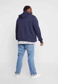 GANT - THE ORIGINAL FULL ZIP HOODIE - Zip-up hoodie - evening blue - 2