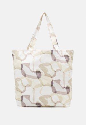 TOTE BAG PRINT UNISEX - Tote bag - off-white