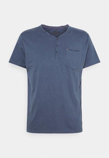 TEE - T-shirt - bas - dark denim