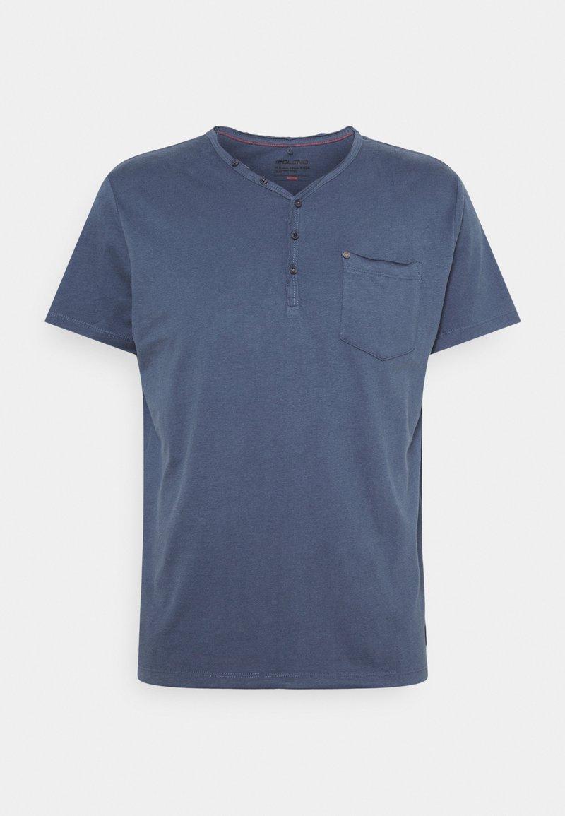 Blend - TEE - T-shirt - bas - dark denim
