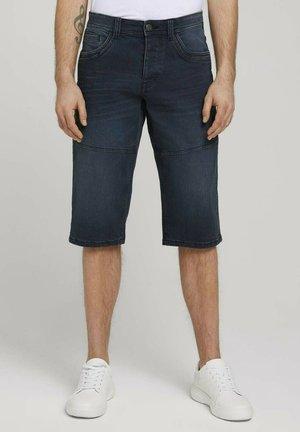 MORRIS  - Shorts vaqueros - blue black denim
