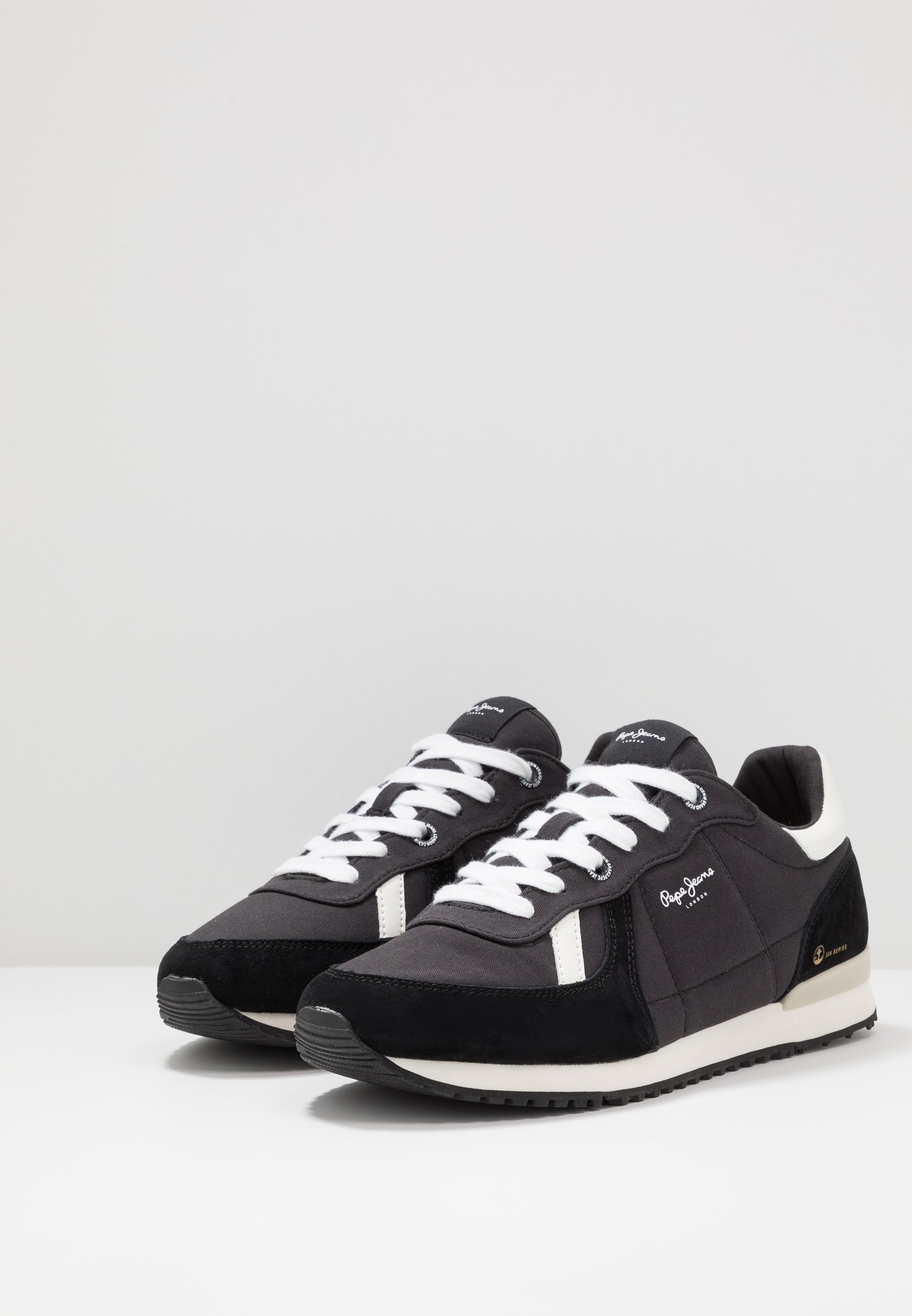 Pepe Jeans TINKER JOGGER - Sneakers basse - black | Scarpe Prezzo Speciale