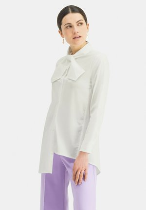 NIBOWA - Button-down blouse - weiãŸ
