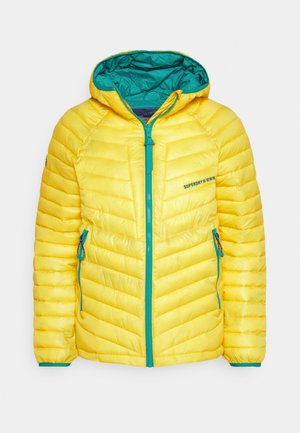 ALPINE PADDED MID LAYER - Lyžařská bunda - blazing yellow