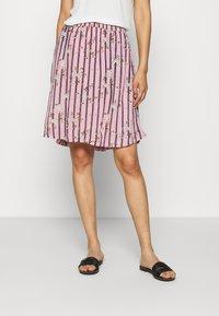Kaffe - KAMONA SKIRT - A-snit nederdel/ A-formede nederdele - candy pink - 0