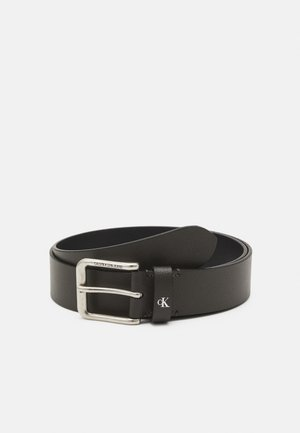 ROUNDED CLASSIC BELT - Skärp - grey