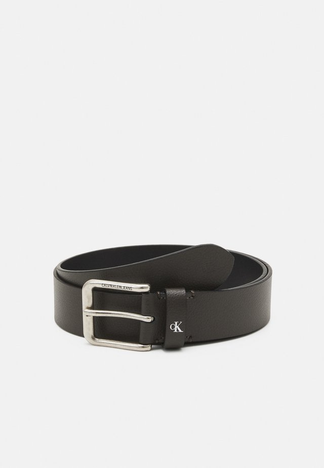 ROUNDED CLASSIC BELT - Cintura - grey