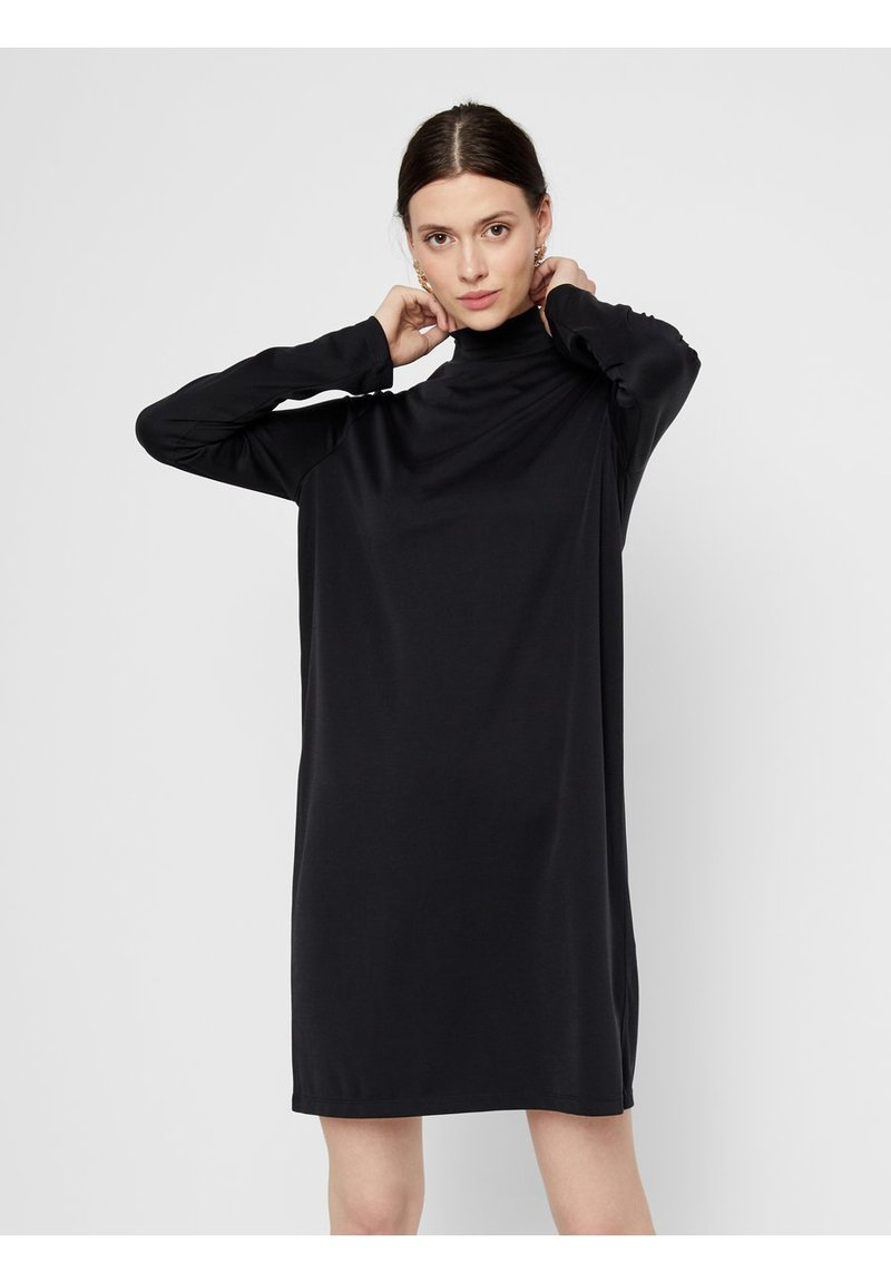 Pieces - Day dress - black