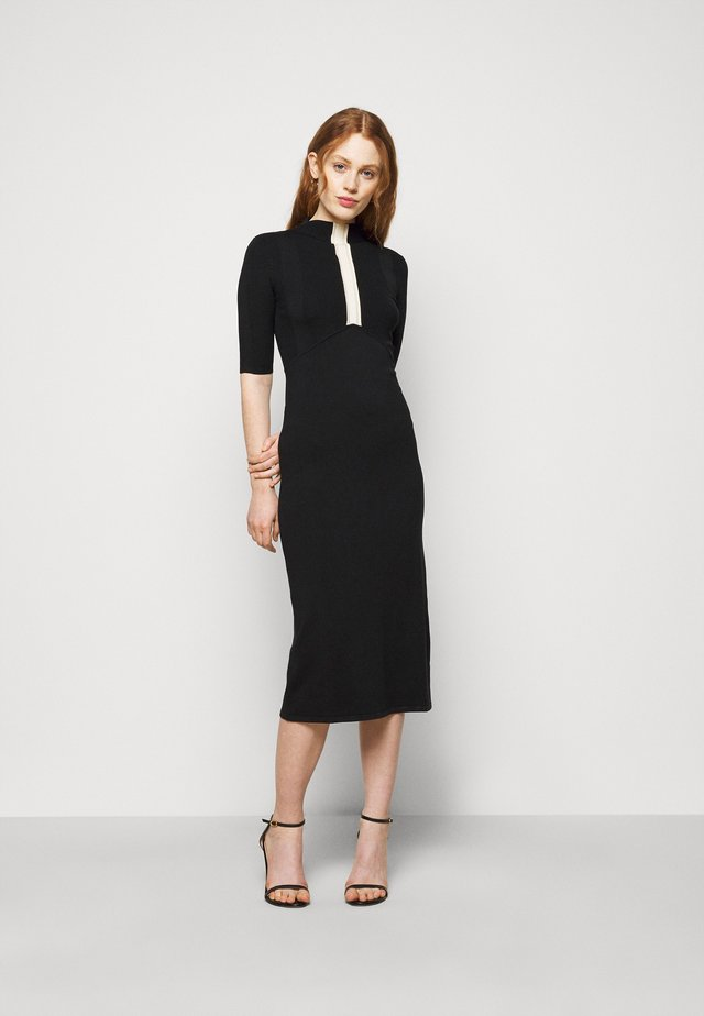 ABITO DRESS - Robe pull - nero