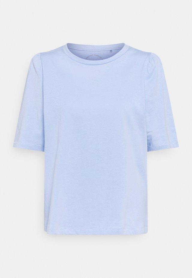 ONLNORA PASTEL LIFE TEE - T-shirt basic - blue heron