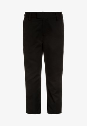 FORMAL SLIM FIT LEG TROUSERS - Chino kalhoty - black