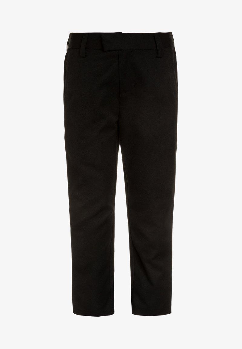Next - FORMAL SLIM FIT LEG TROUSERS - Chino - black