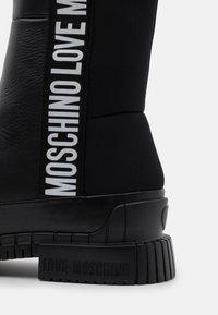 Love Moschino - STREET LOVE - Boots - black - 4