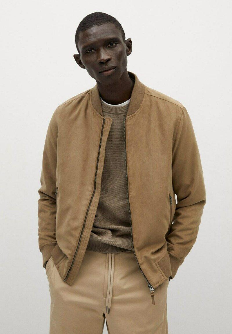 Mango - Light jacket - beige