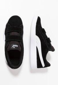 Puma - SMASH - Tenisky - black/white - 0