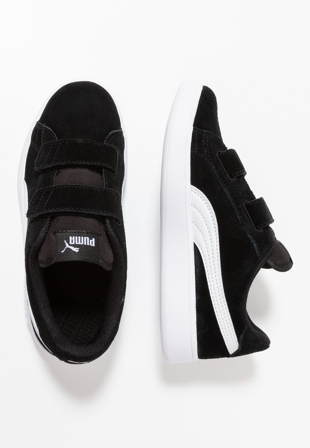 SMASH - Sneakers laag - black/white