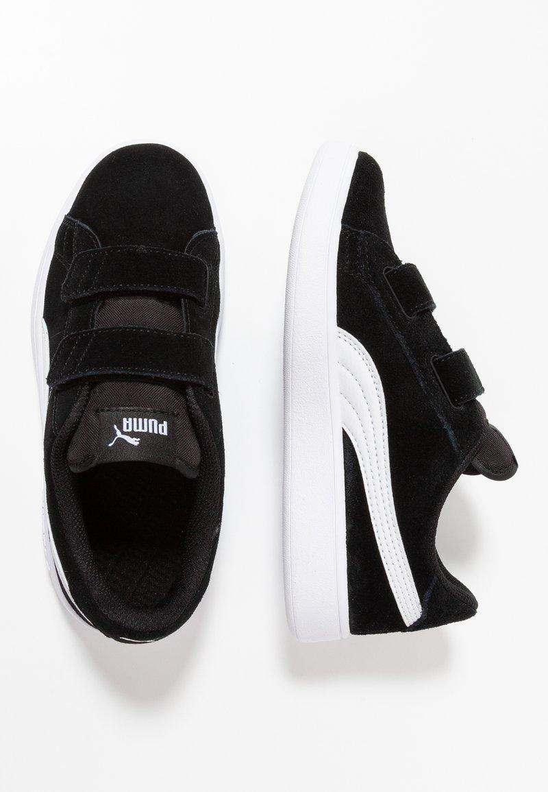 Puma - SMASH - Tenisky - black/white