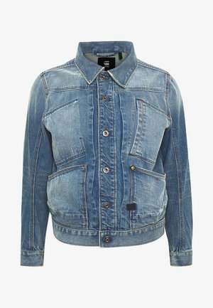 5650 JACKET - Giacca di jeans - kir stretch denim o - antic faded royal blue
