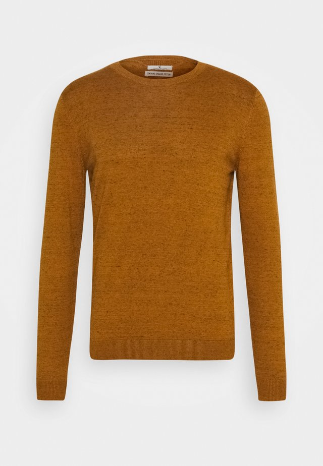 BASIC CREW NECK  - Jumper - orange